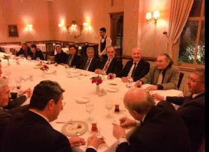 Prof. Dr. Nevzat Tarhan Başkan Hilmi Türkmen ile gençleri ve geleceklerini konuştu…