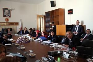 Prof. Dr. Nevzat Tarhan TBMM Kadına Yönelik Şiddet Komisyonuna katıldı…