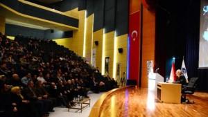 Tarhan, 'Bediüzzaman ve Müsbet Hareket' konferansında anlattı…