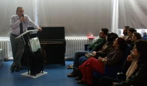 """Tarhan'dan Rehber Öğretmenlere """"Sosyal Medya Bağımlılığı"""" konferansı…"""