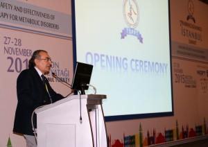Prof. Dr. Nevzat Tarhan İstanbul Farmakogenetik Zirvesine katıldı.