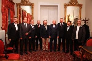 Genel Başkan Tarhan ve ASDER Yönetim Kurulu TBMM Başkanını ziyaret etti.