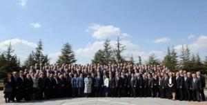 Cumhurbaşkanı Gül rektörlerle buluştu