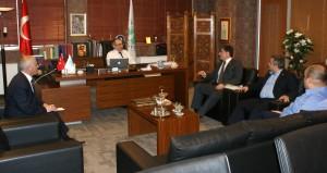 Gençlik ve Spor Bakanlığı'ndan Rektör Tarhan'a ziyaret…