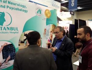 Rektör Tarhan Dünya Psikiyatri Kongresi APA'da…