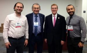 Obama'nın sağlık danışmanı Levin ve Prof. Dr. Nevzat Tarhan ortak projeler için buluştu...