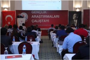 Rektör Tarhan Gençlik Araştırmaları Çalıştayına katıldı…
