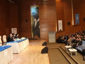 'BİLGELERİN İZİNDE' PROF. DR. NEVZAT TARHAN'I AĞIRLADI